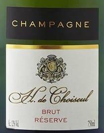 champagne h de choiseul