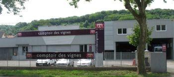 Photo illustrant la boutique de Comptoir des Vignes Quincey