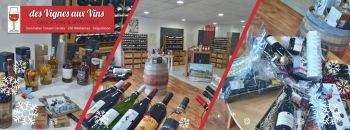 Photo illustrant la boutique de Des Vignes aux Vins