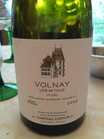 Photo d'une bouteille de Volnay Volnay-Premier-Cru