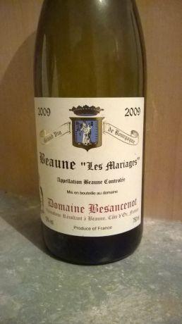 Photo d'une bouteille de Domaine Besancenot Beaune