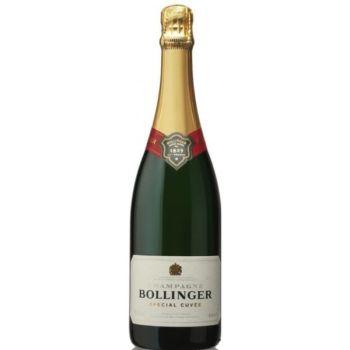 Photo d'une bouteille de Bollinger Champagne