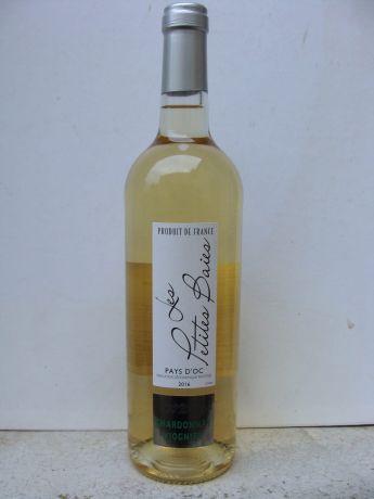 Photo d'une bouteille de Chardonnay-Viognier Vin de pays d'Oc