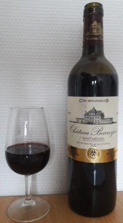 Photo d'une bouteille de Château Barreyres Haut-Médoc