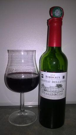 Photo d'une bouteille de Château Bellevue Bordeaux
