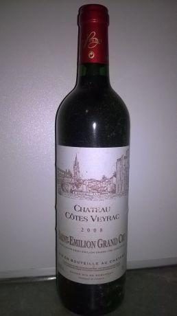 Photo d'une bouteille de Château Côtes Veyrac Saint-Emilion-Grand-Cru