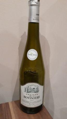Photo d'une bouteille de Château de la Botiniere Muscadet-Sèvre-et-Maine