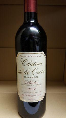 Photo d'une bouteille de Château de la Croix Médoc