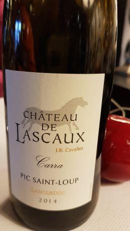 Photo d'une bouteille de Château de Lascaux Pic Saint-Loup