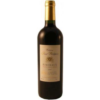 Photo d'une bouteille de Château Haut-Philippon Bordeaux