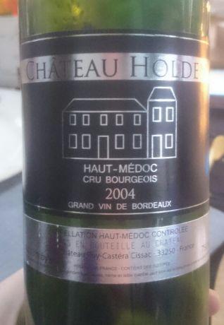 Photo d'une bouteille de Château Holden Haut-Médoc