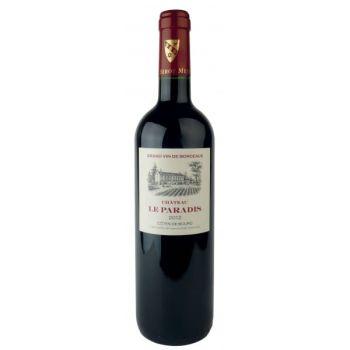 Photo d'une bouteille de Château le Paradis Côtes-de-Bourg