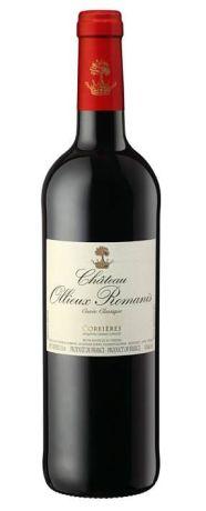 Photo d'une bouteille de Chateau Ollieux Romanis Corbières