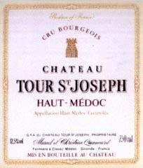 Photo d'une bouteille de Chateau Tour St Joseph Haut-Médoc