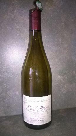 Photo d'une bouteille de Christophe Auguste Saint-Bris