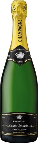 Photo d'une bouteille de Comte Stanislas Champagne