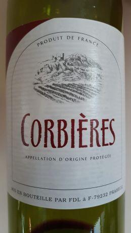 Photo d'une bouteille de Corbières Corbières