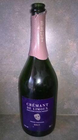 Photo d'une bouteille de crémant de limoux Crémant-de-Limoux