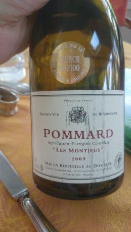 Photo d'une bouteille de Domaine Coste-Caumartin, Les Montjeus Pommard