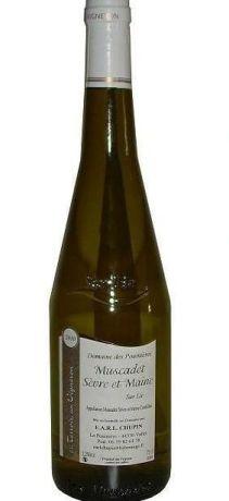 Photo d'une bouteille de Domaine des Pouinières Muscadet-Sèvre-et-Maine