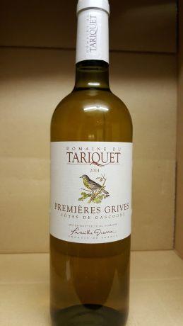 Photo d'une bouteille de Domaine du Tariquet Vin de pays des Côtes de Gascogne