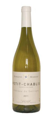 Photo d'une bouteille de Domaine Marsoif Petit-Chablis