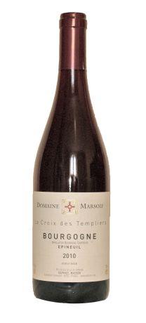 Photo d'une bouteille de Domaine Marsoif Bourgogne
