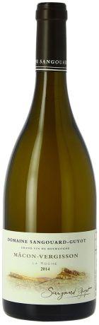 Photo d'une bouteille de Domaine Sangouard-Guyot Mâcon-Villages