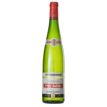 Photo d'une bouteille de Frey-Sohler Alsace Gewurztraminer