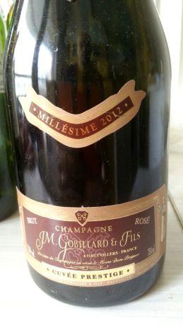 Photo d'une bouteille de J.M. Gobillard et Fils Champagne
