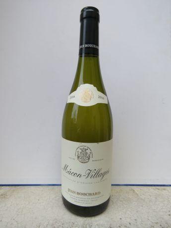 Photo d'une bouteille de Jean Bouchard Mâcon-Villages