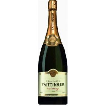 Photo d'une bouteille de Taittinger Champagne